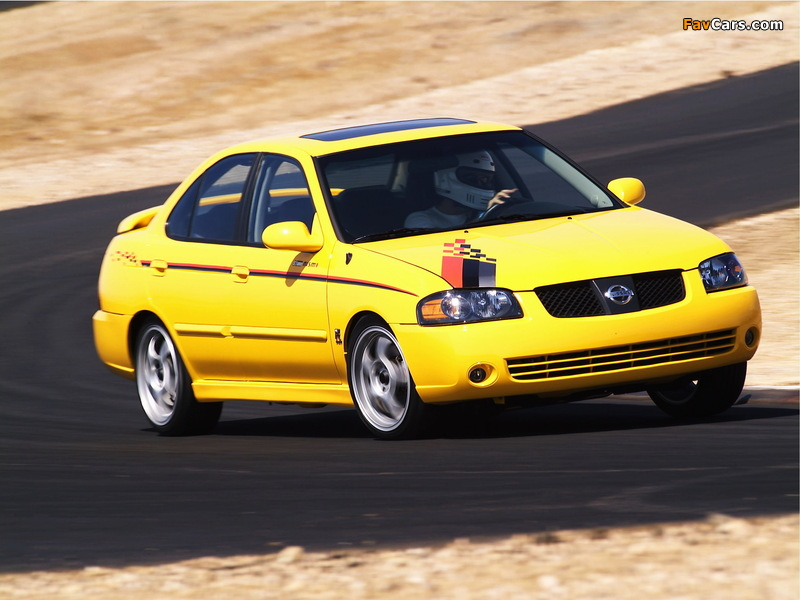 Nismo Nissan Sentra SE-R (B15) 2004 pictures (800 x 600)