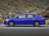 Nissan Sentra SR (B17) 2012 images