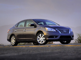 Nissan Sentra SL (B17) 2012 images