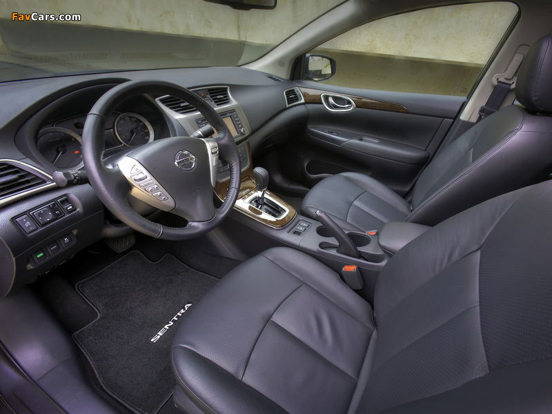 Nissan Sentra SL (B17) 2012 photos (800 x 600)
