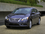 Nissan Sentra SL (B17) 2012 pictures
