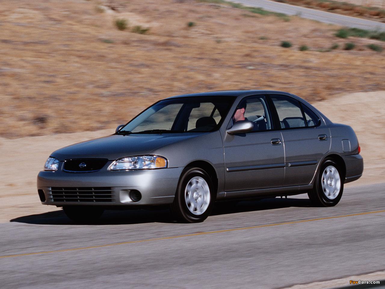 All Types 2004 sentra : of Nissan Sentra (B15) 1999–2004