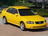 Photos of Nissan Sentra SE-R (B15) 2004–06