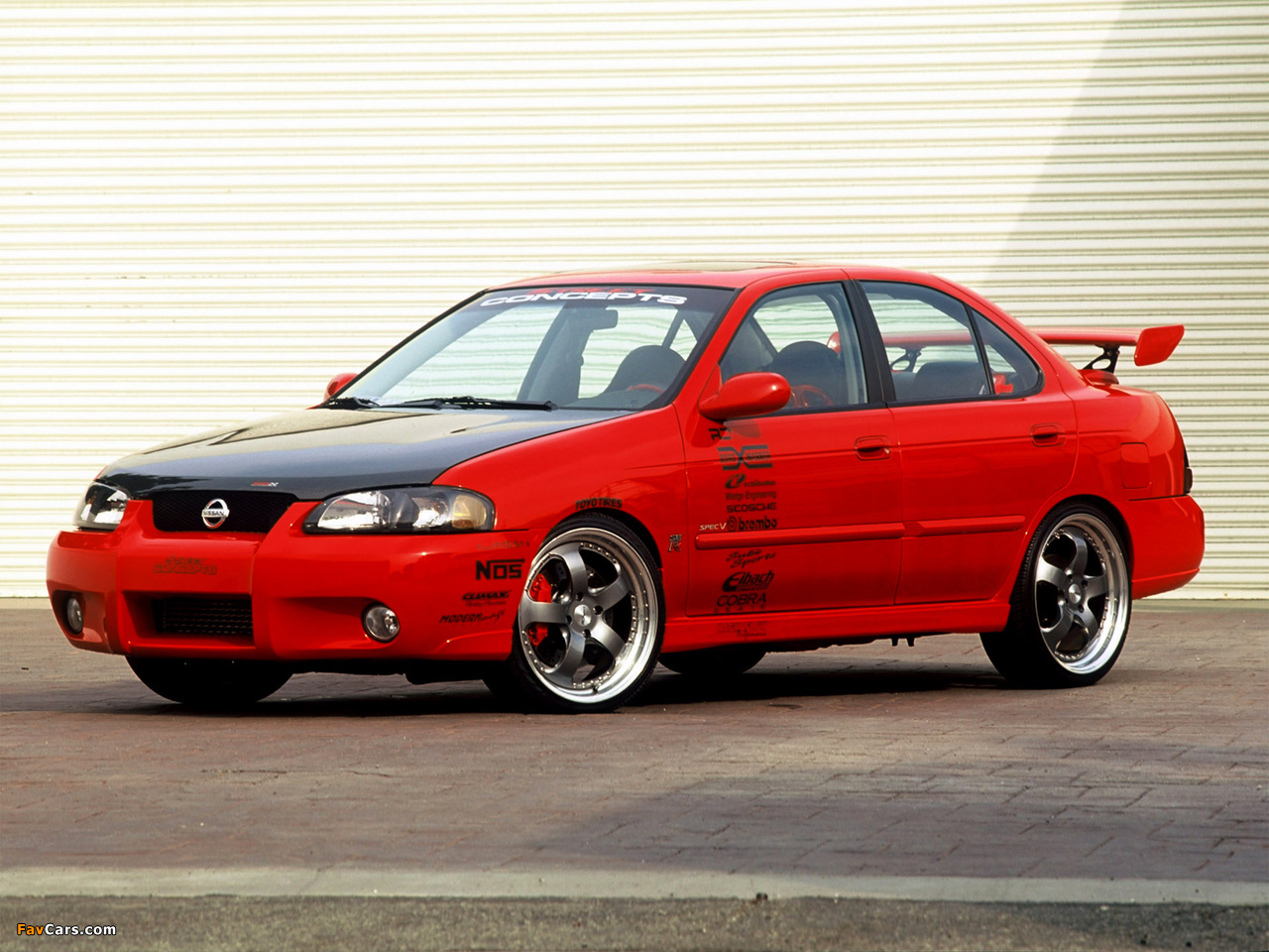 Pictures of Street Concepts Nissan Sentra SE-R (B15) 2002 (1280 x 960)