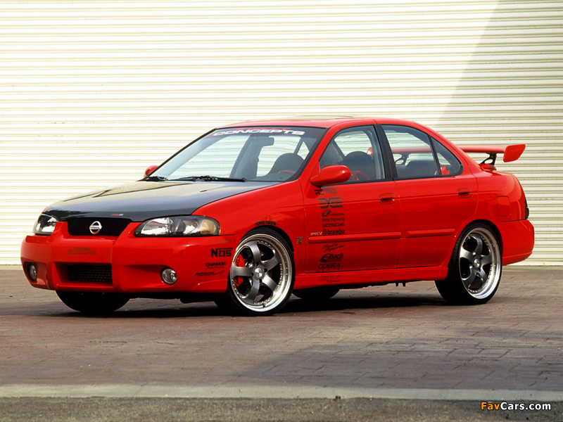 Pictures of Street Concepts Nissan Sentra SE-R (B15) 2002 (800 x 600)
