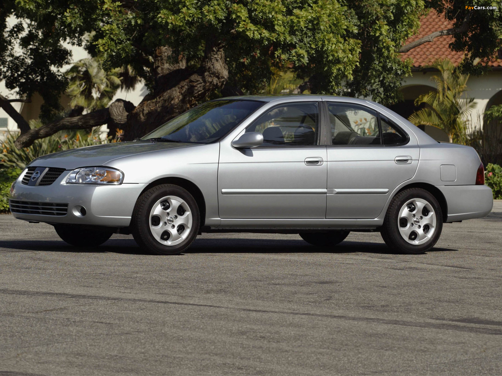 Pictures of Nissan Sentra (B15) 2004–06 (1600 x 1200)