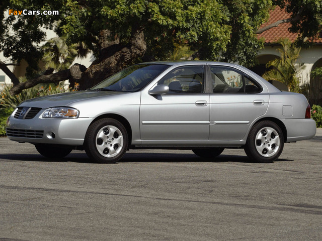 Pictures of Nissan Sentra (B15) 2004–06 (640 x 480)