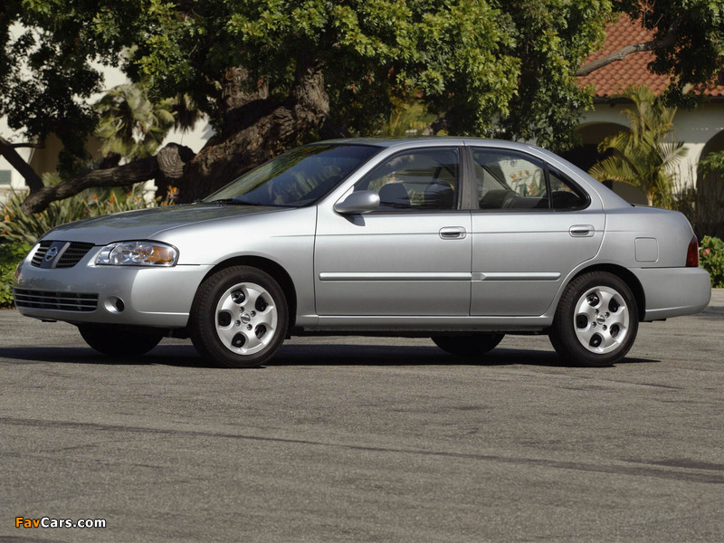 Pictures of Nissan Sentra (B15) 2004–06 (800 x 600)