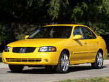 Pictures of Nissan Sentra SE-R (B15) 2004–06