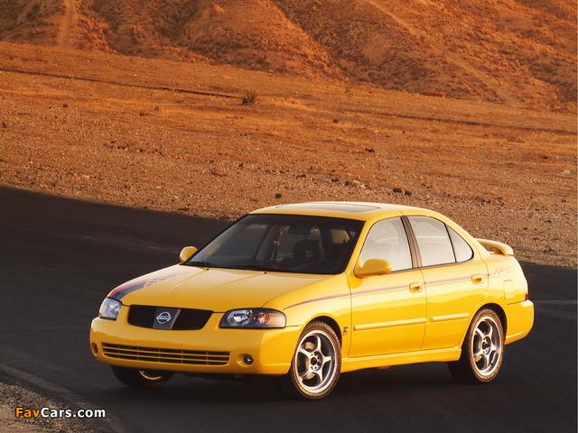 Nismo Nissan Sentra SE-R (B15) 2004–06 wallpapers (640 x 480)