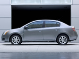 Nissan Sentra (B16) 2006–09 wallpapers