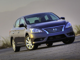 Nissan Sentra SL (B17) 2012 wallpapers