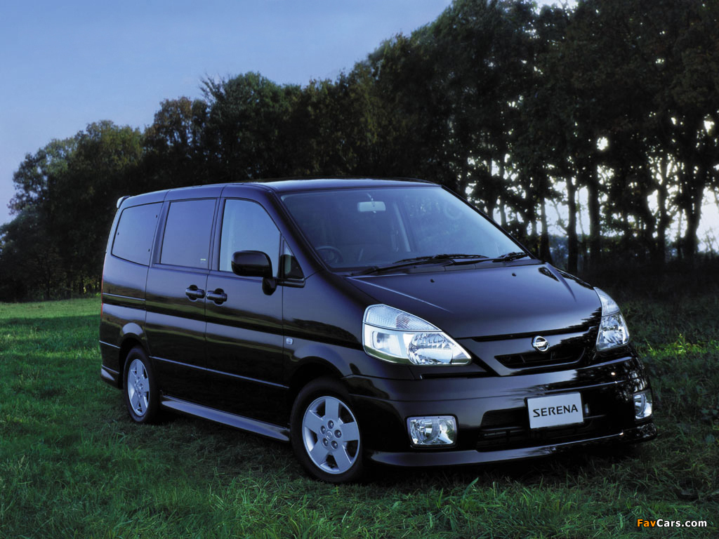 Nissan Serena (C24) 1999–2005 photos (1024 x 768)