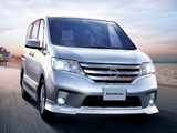 Photos of Nissan Serena Highway Star V Aero (C26) 2011