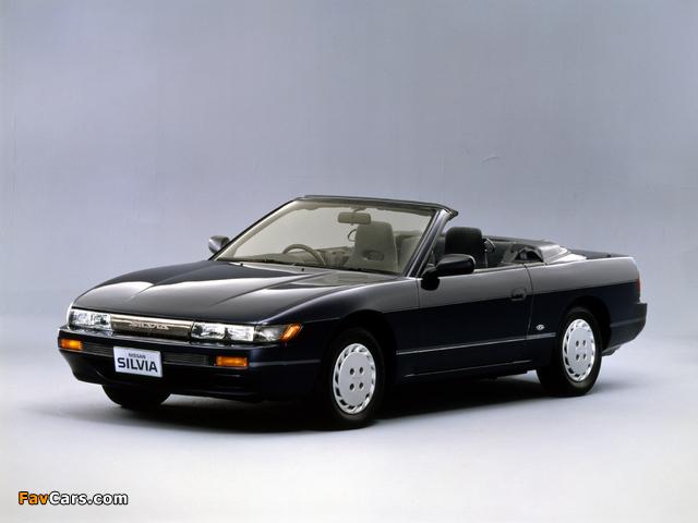 Autech Nissan Silvia Convertible (S13) 1988–91 images (640 x 480)