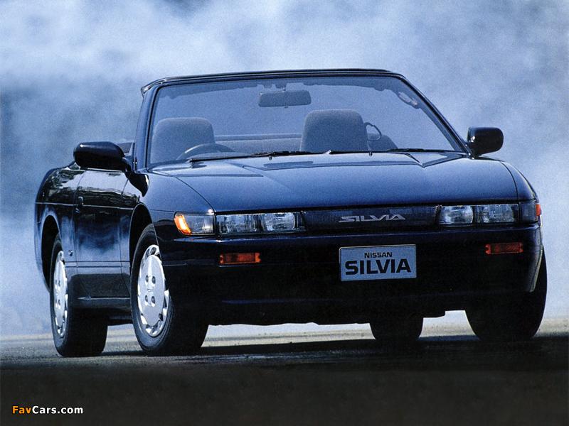 Autech Nissan Silvia Convertible (S13) 1988–91 wallpapers (800 x 600)