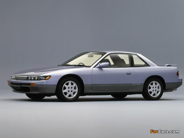 Nissan Silvia Qs (S13) 1988–93 images (640 x 480)