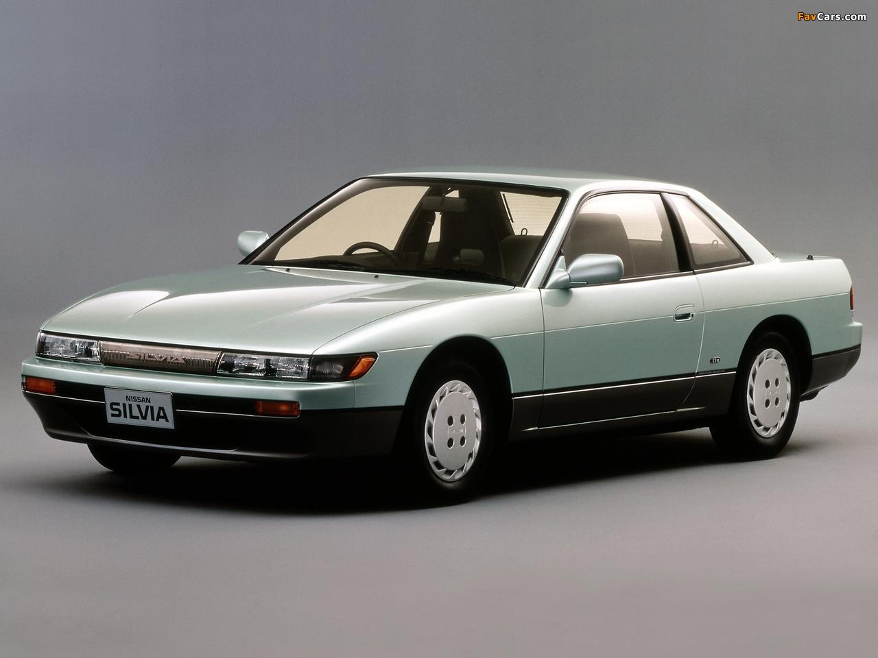 Nissan Silvia Qs (S13) 1988–93 photos (1280 x 960)