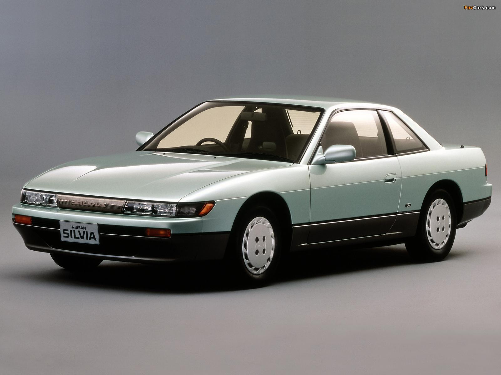 Nissan Silvia Qs (S13) 1988–93 photos (1600 x 1200)