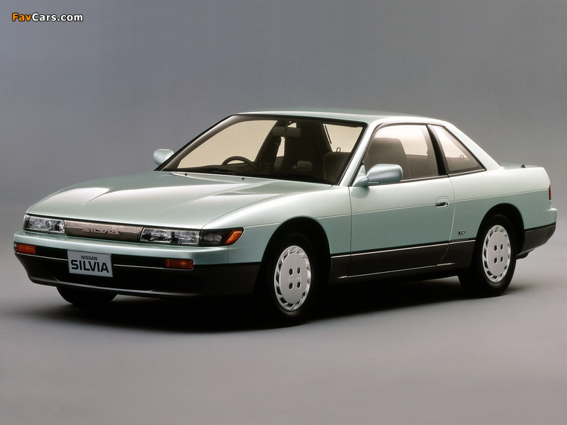 Nissan Silvia Qs (S13) 1988–93 photos (800 x 600)