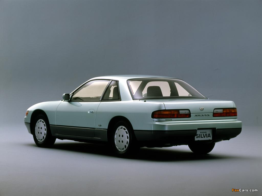 Pictures of Nissan Silvia Qs (S13) 1988–93 (1024 x 768)
