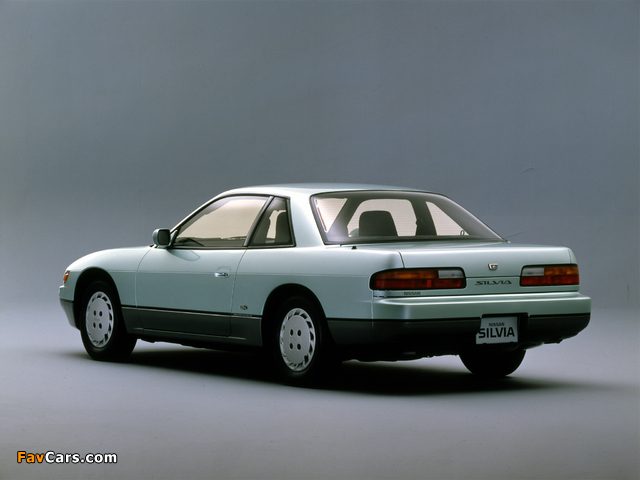 Pictures of Nissan Silvia Qs (S13) 1988–93 (640 x 480)