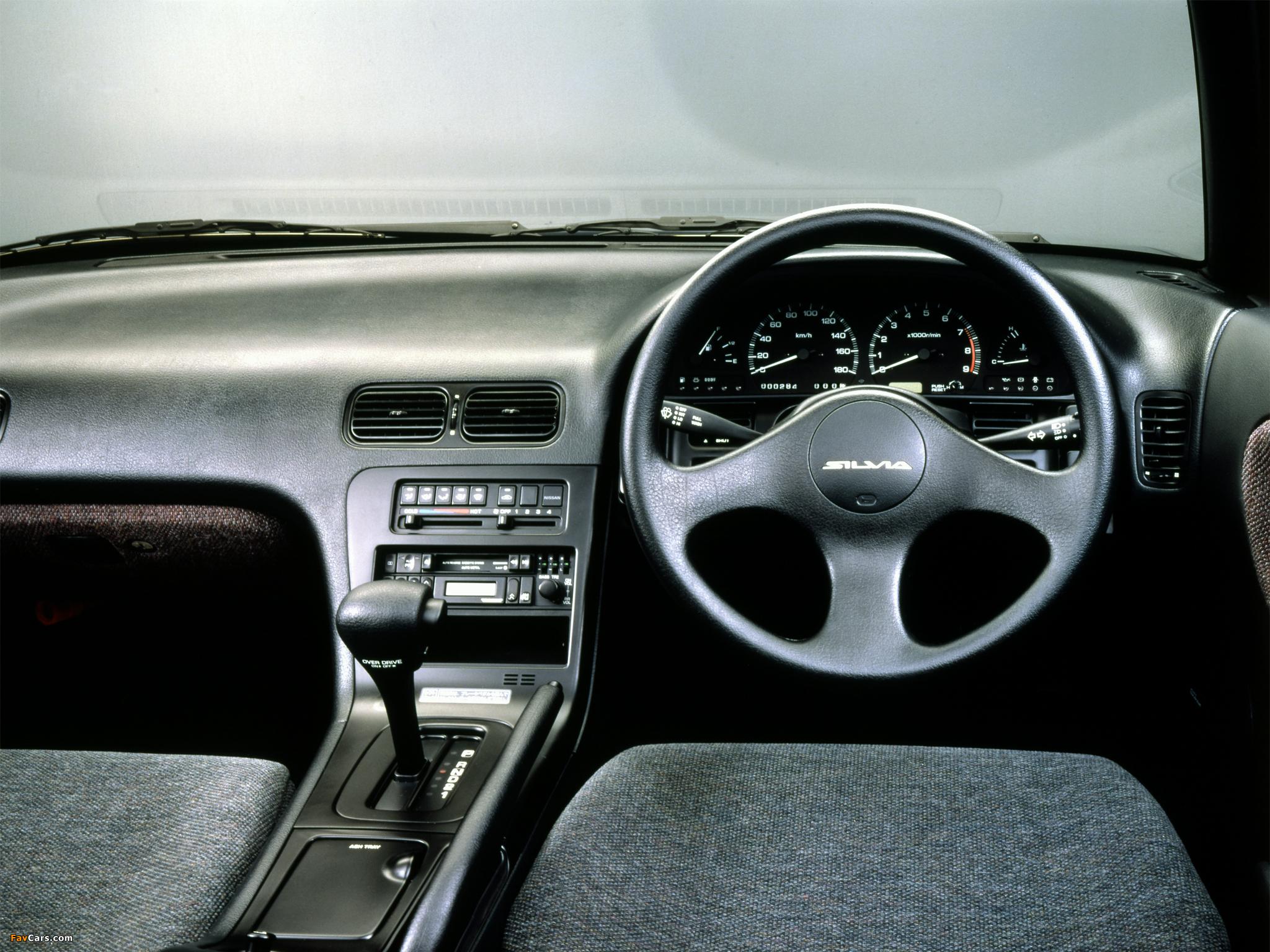 Nissan Silvia Ks (S13) 1988–93 wallpapers (2048 x 1536)