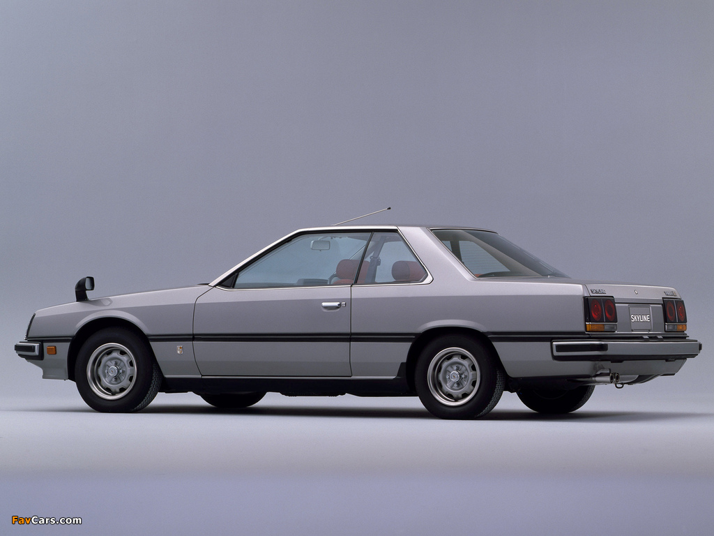 Images of Nissan Skyline 2000GT Turbo Coupe (KHR30) 1981–85 (1024 x 768)