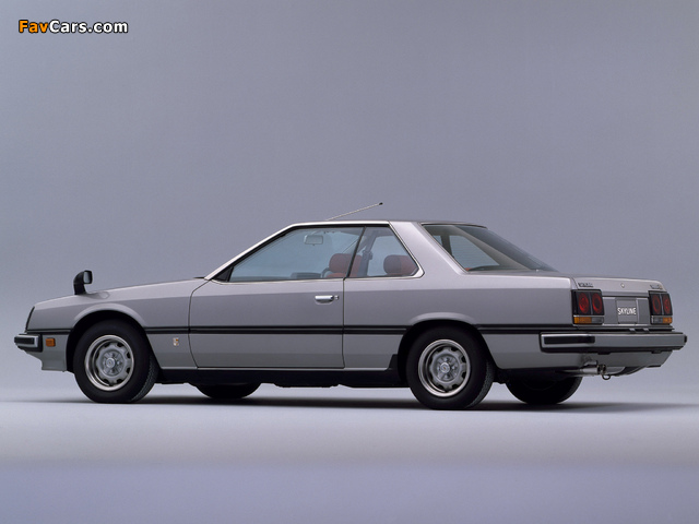 Images of Nissan Skyline 2000GT Turbo Coupe (KHR30) 1981–85 (640 x 480)