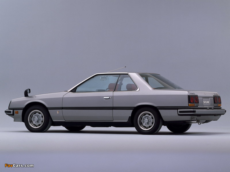 Images of Nissan Skyline 2000GT Turbo Coupe (KHR30) 1981–85 (800 x 600)