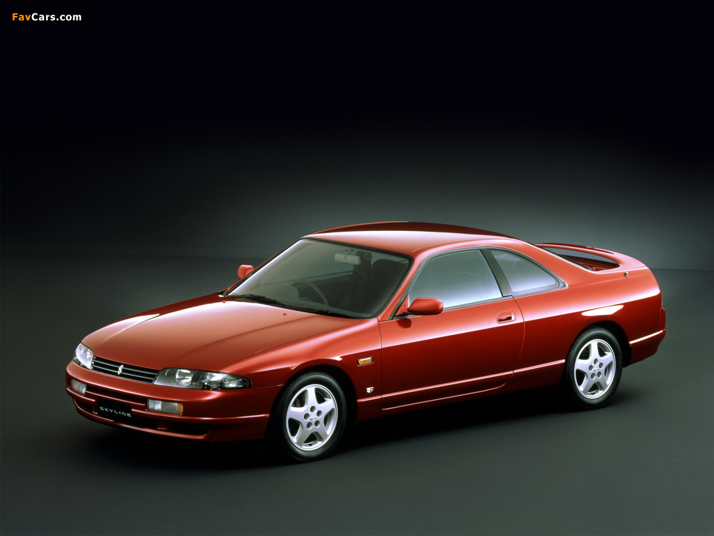 Images of Nissan Skyline GTS25t Coupe (R33) 1993–98 (1024 x 768)