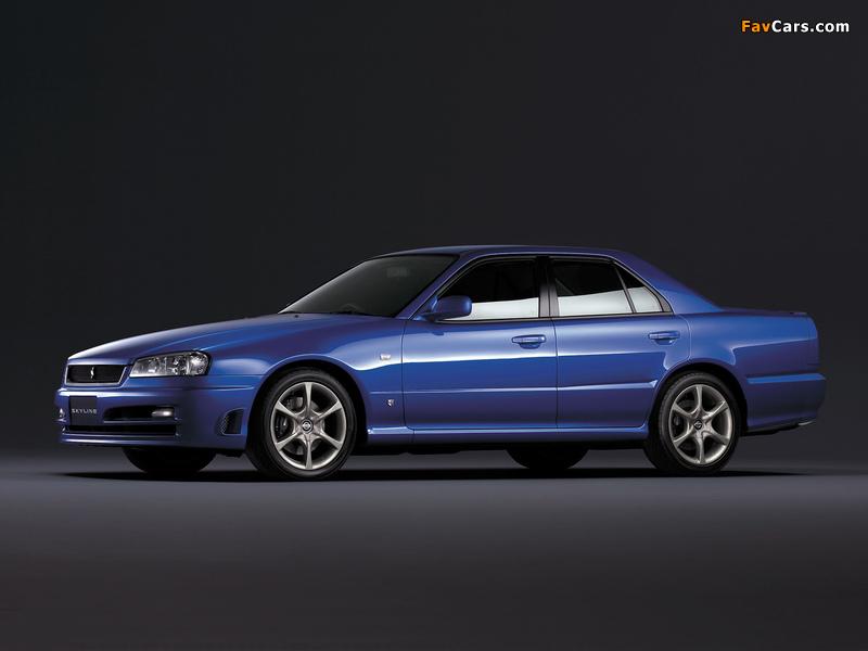Images of Nissan Skyline GT Turbo Sedan (ER34) 2000–01 (800 x 600)