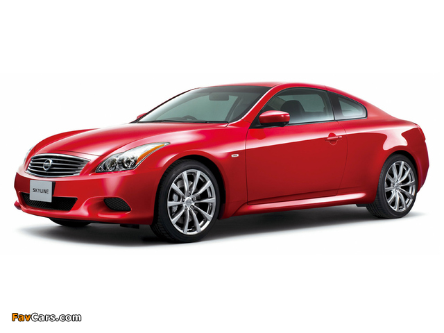 Images of Nissan Skyline Coupe Type S (CV36) 2007–10 (640 x 480)