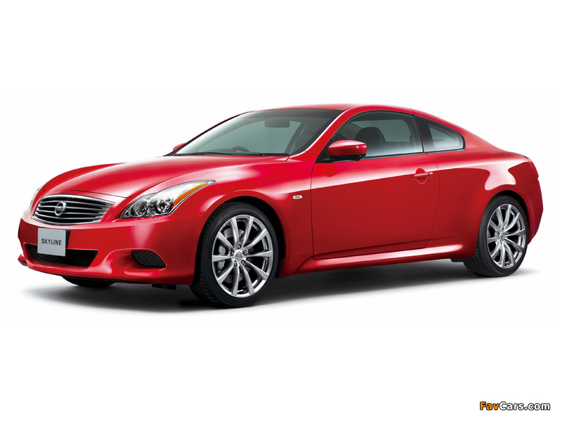 Images of Nissan Skyline Coupe Type S (CV36) 2007–10 (800 x 600)