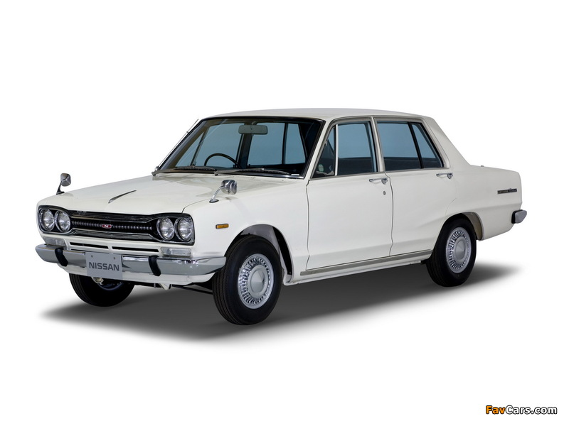 Nissan Skyline 1500 Sedan (C10) 1968–72 photos (800 x 600)