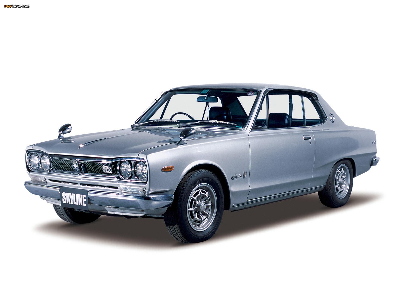 Nissan Skyline 2000GT-X Coupe (KGC10) 1971–72 images (1600 x 1200)