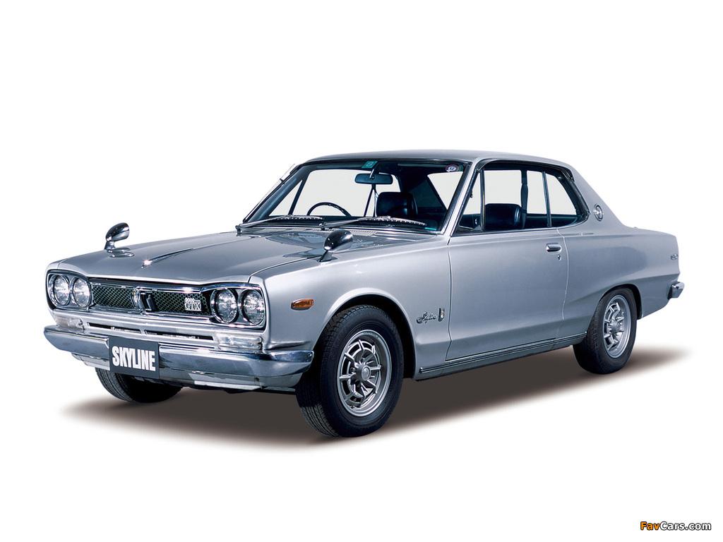 Nissan Skyline 2000GT-X Coupe (KGC10) 1971–72 images (1024 x 768)