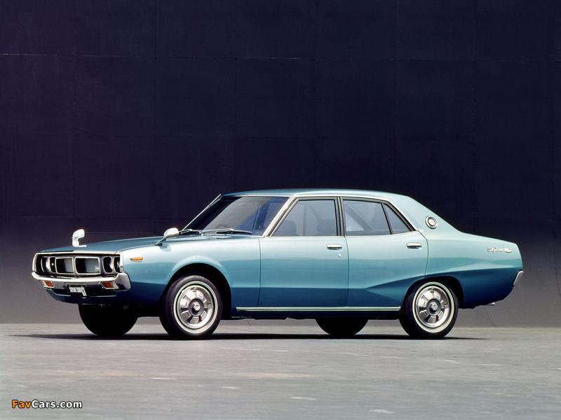 Nissan Skyline 2000GT Sedan (GC110) 1972–75 pictures (800 x 600)