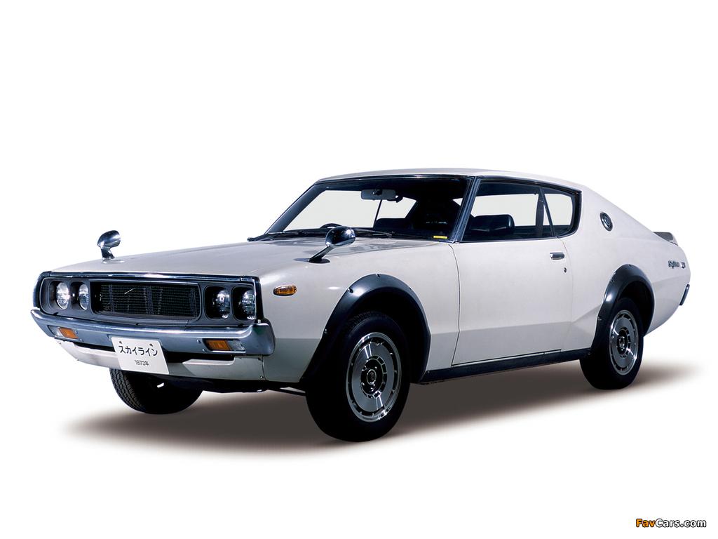 Nissan Skyline 2000GT-R (KPGC110) 1973 images (1024 x 768)