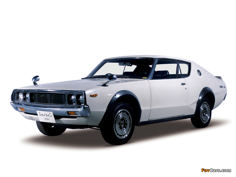Nissan Skyline 2000GT-R (KPGC110) 1973 images (800 x 600)