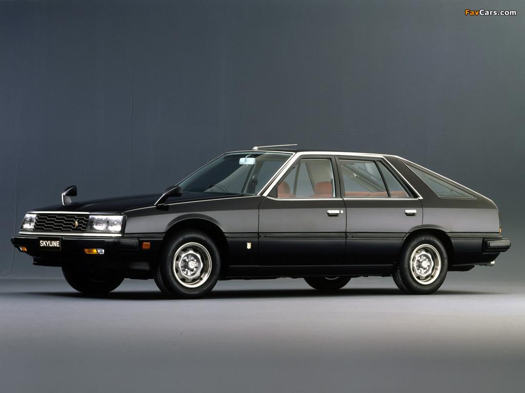 Nissan Skyline 2000GT Turbo Hatchback (RHR30) 1981–85 photos (1024 x 768)