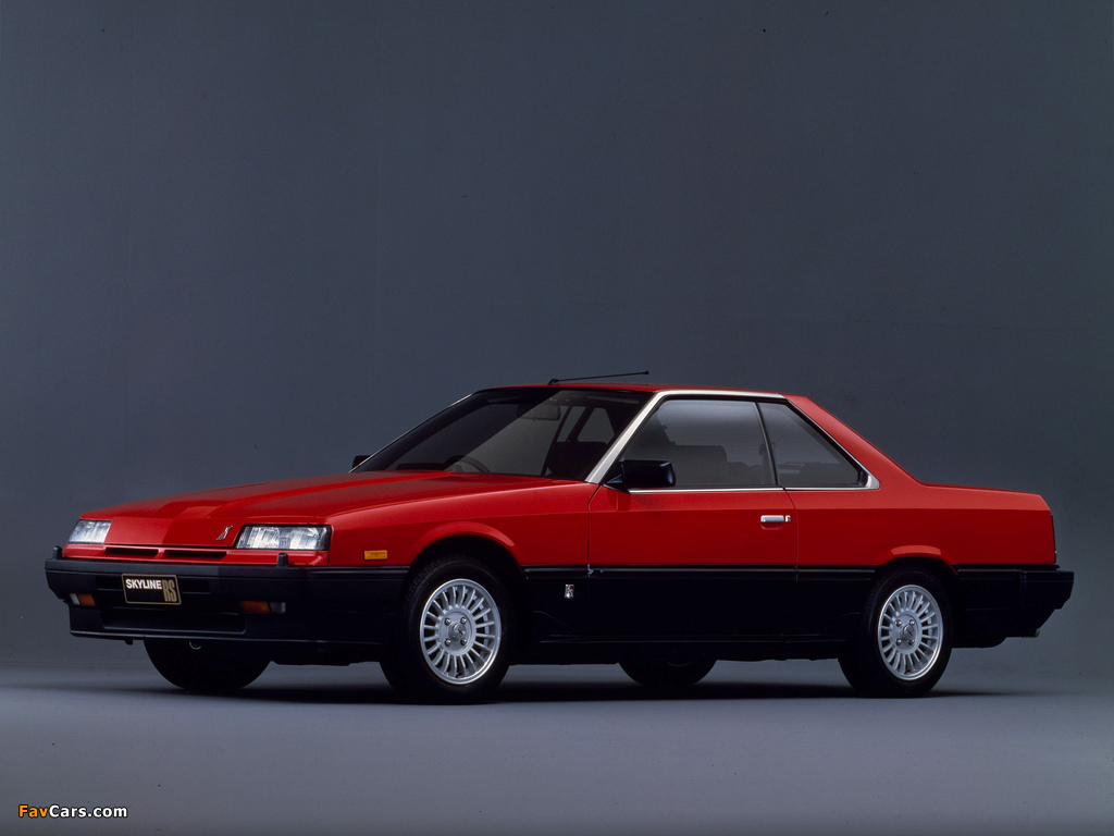 Nissan Skyline 2000 Turbo RS-X Coupe (KDR30XFT) 1983–85 images (1024 x 768)