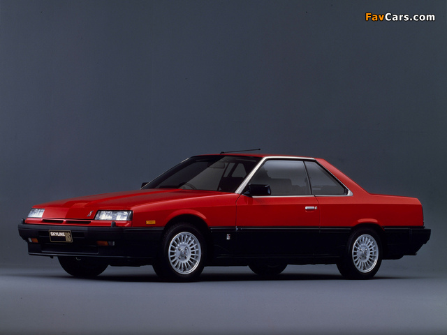 Nissan Skyline 2000 Turbo RS-X Coupe (KDR30XFT) 1983–85 images (640 x 480)