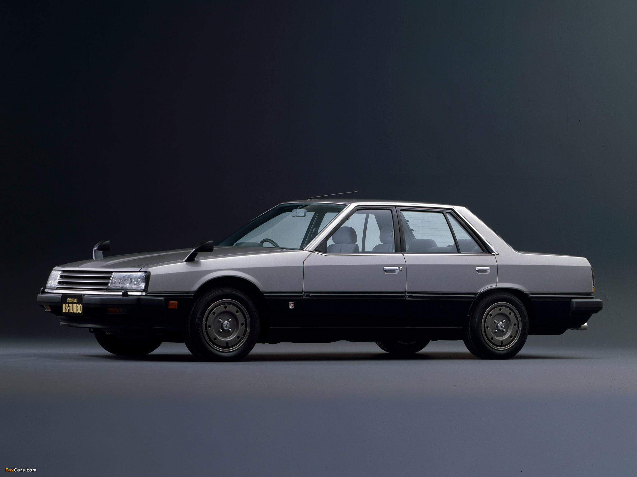 Nissan Skyline 2000 Turbo RS Sedan (DR30JFT) 1983 images (2048 x 1536)
