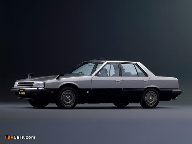 Nissan Skyline 2000 Turbo RS Sedan (DR30JFT) 1983 images (640 x 480)