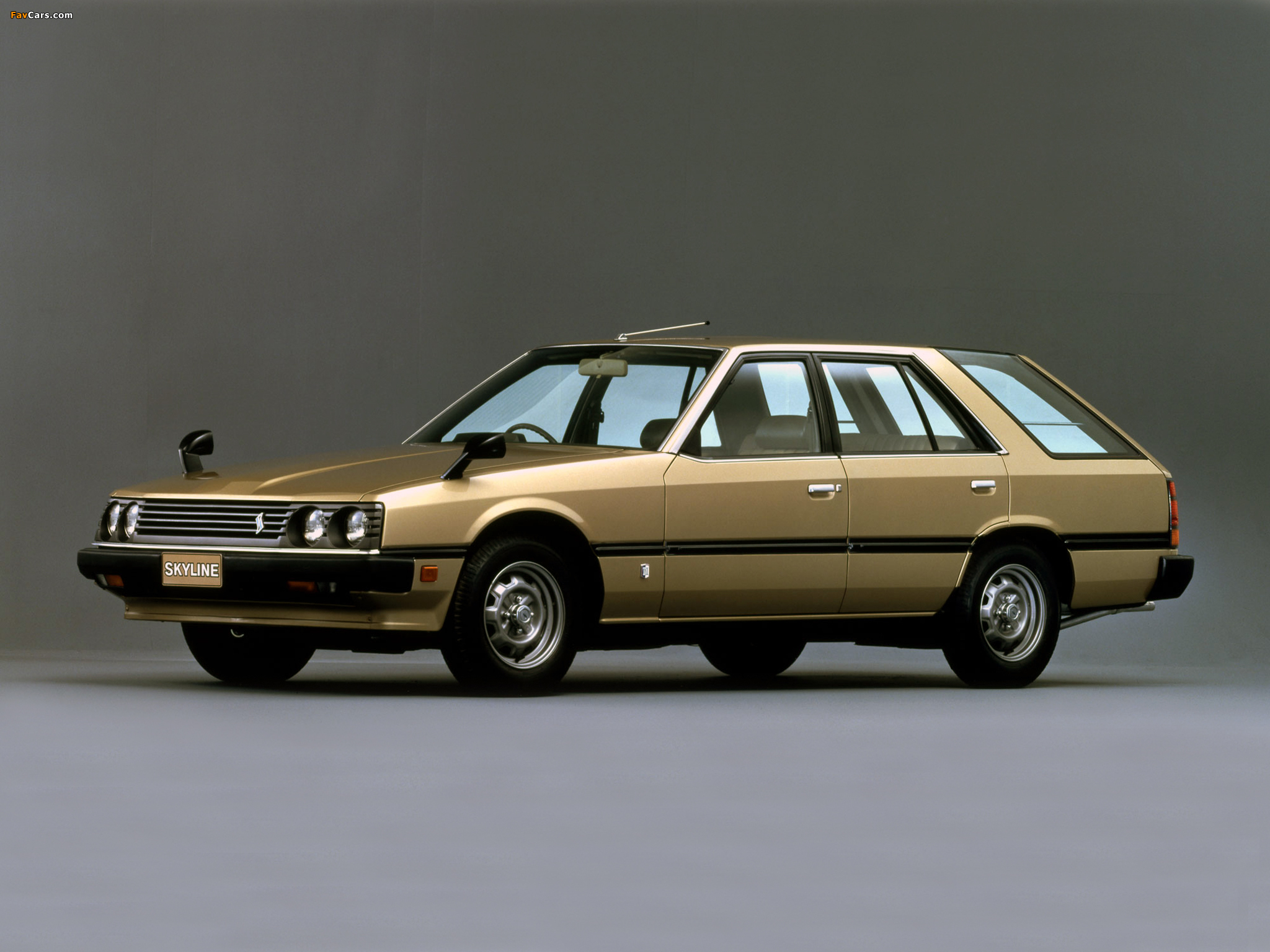 Nissan Skyline 1800 Estate (VR30) 1983–85 photos (2048 x 1536)