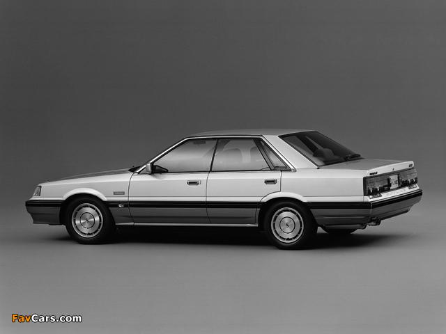 Nissan Skyline GT Sedan (HR31) 1987–89 pictures (640 x 480)