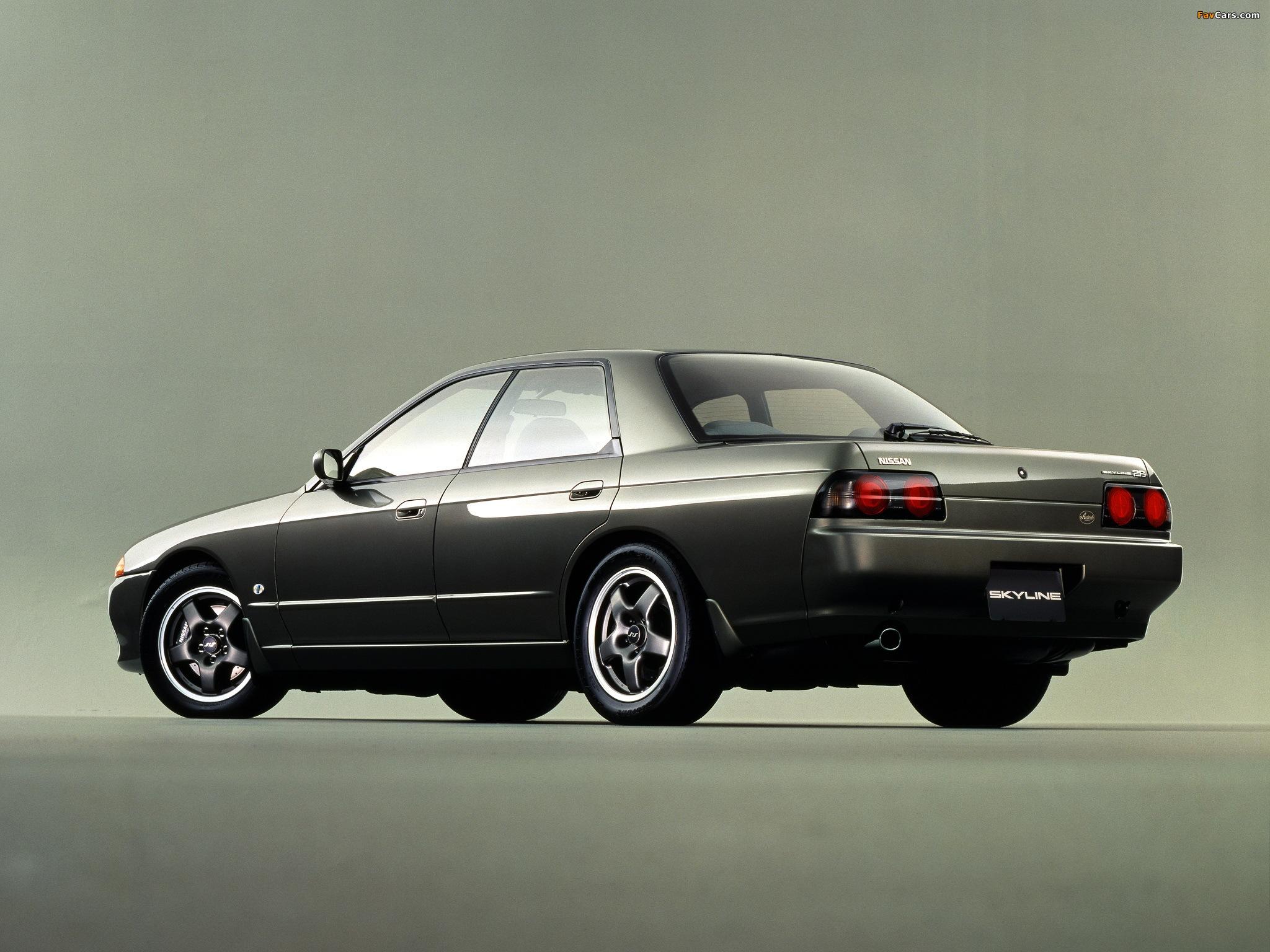 Nissan Skyline Autech Version (R32) 1992–93 pictures (2048 x 1536)
