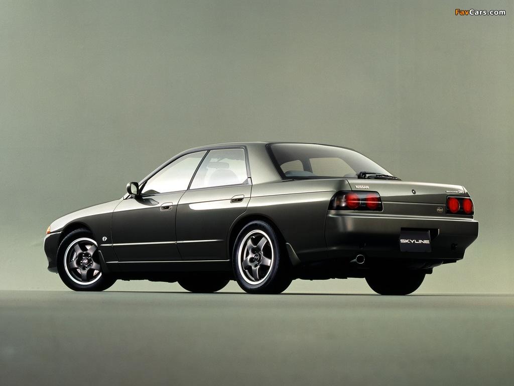 Nissan Skyline Autech Version (R32) 1992–93 pictures (1024 x 768)