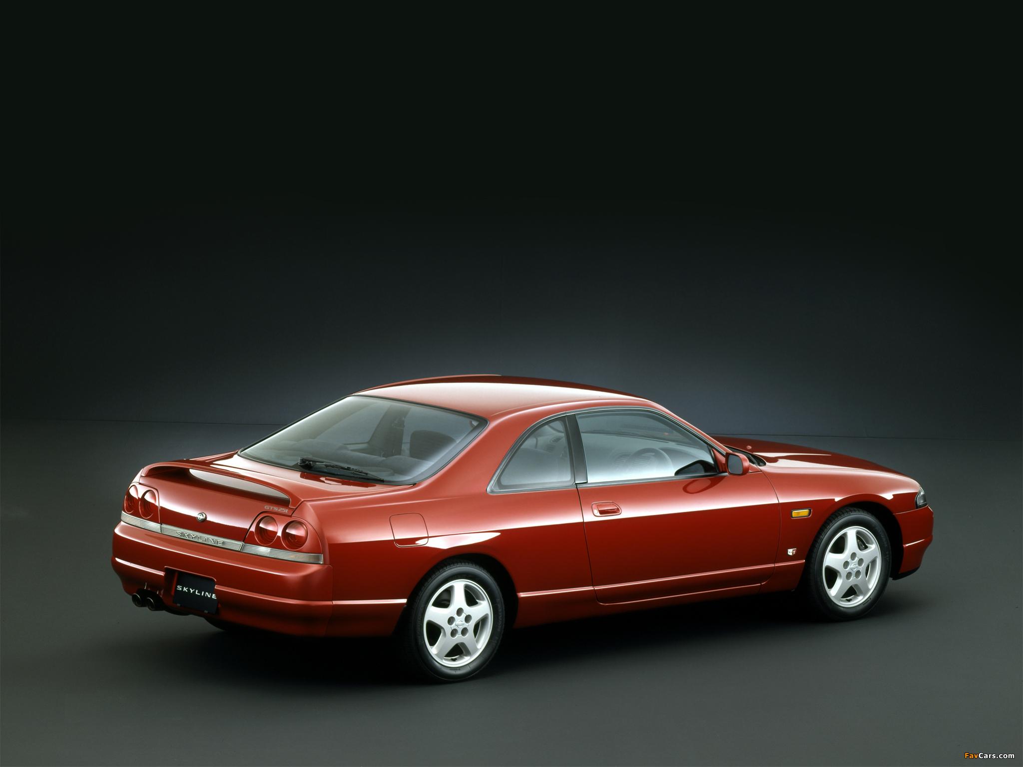Nissan Skyline GTS25t Coupe (R33) 1993–98 photos (2048 x 1536)